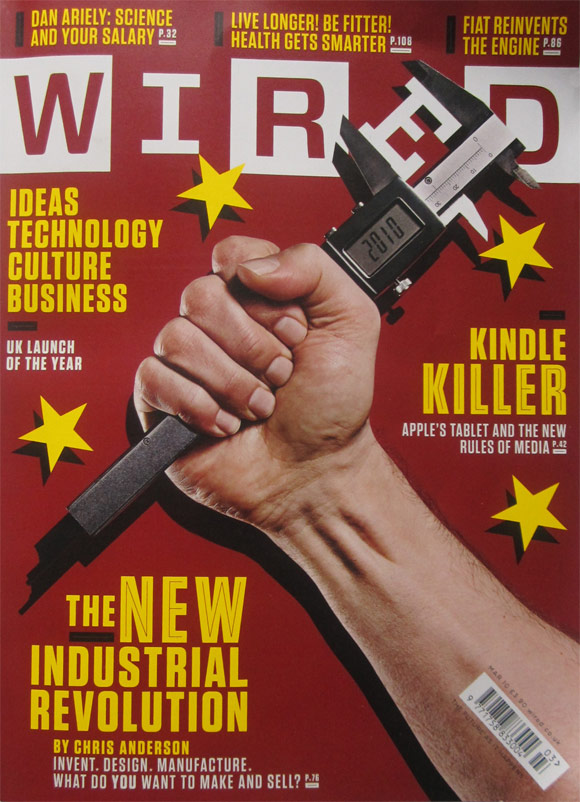 Front cover Wired
