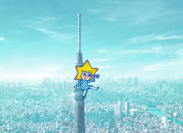 Tokyo sky tree mascot