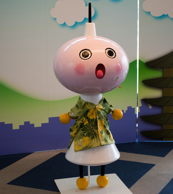 Kyoto tower mascot
