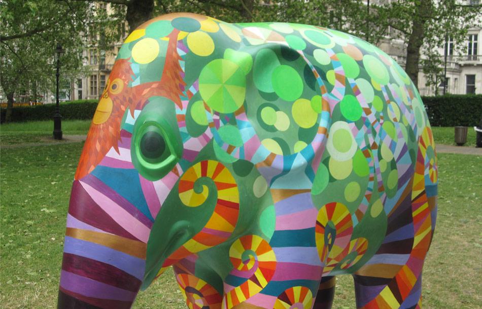 Elephant Parade in London | idleidol.