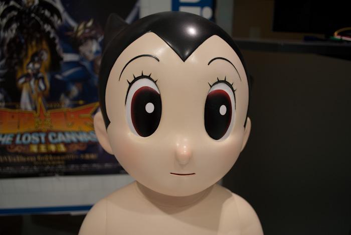 Astro Boy mascot