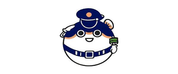 Yamaguchi police mascot