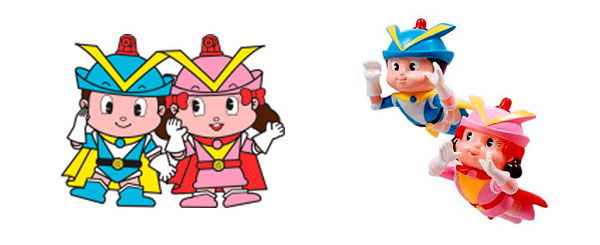 Osaka police mascots