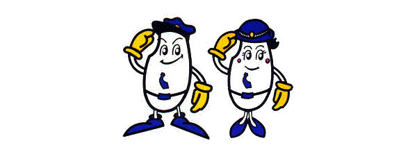 Niigata Police mascots