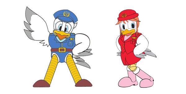 Hyogo police mascot