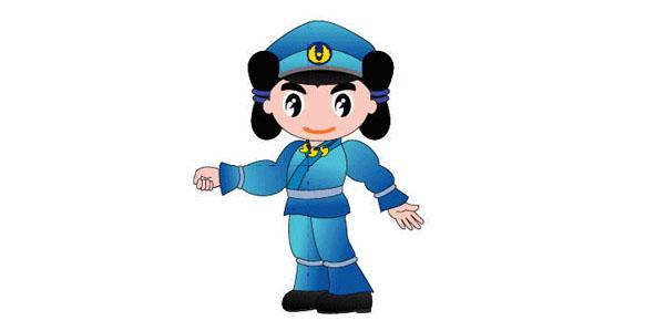 Shimane police mascot