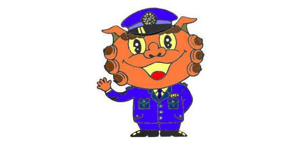 Okinawa police mascot