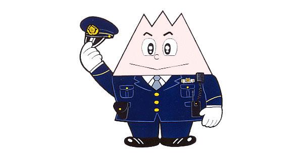 Toyama police mascot