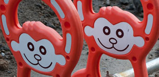 Construction Barrier Animals