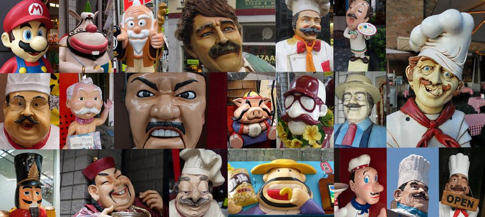 Moustache Mascots