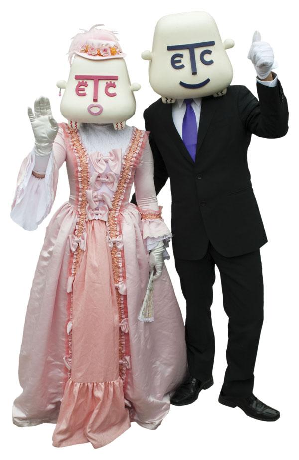ETC mascot